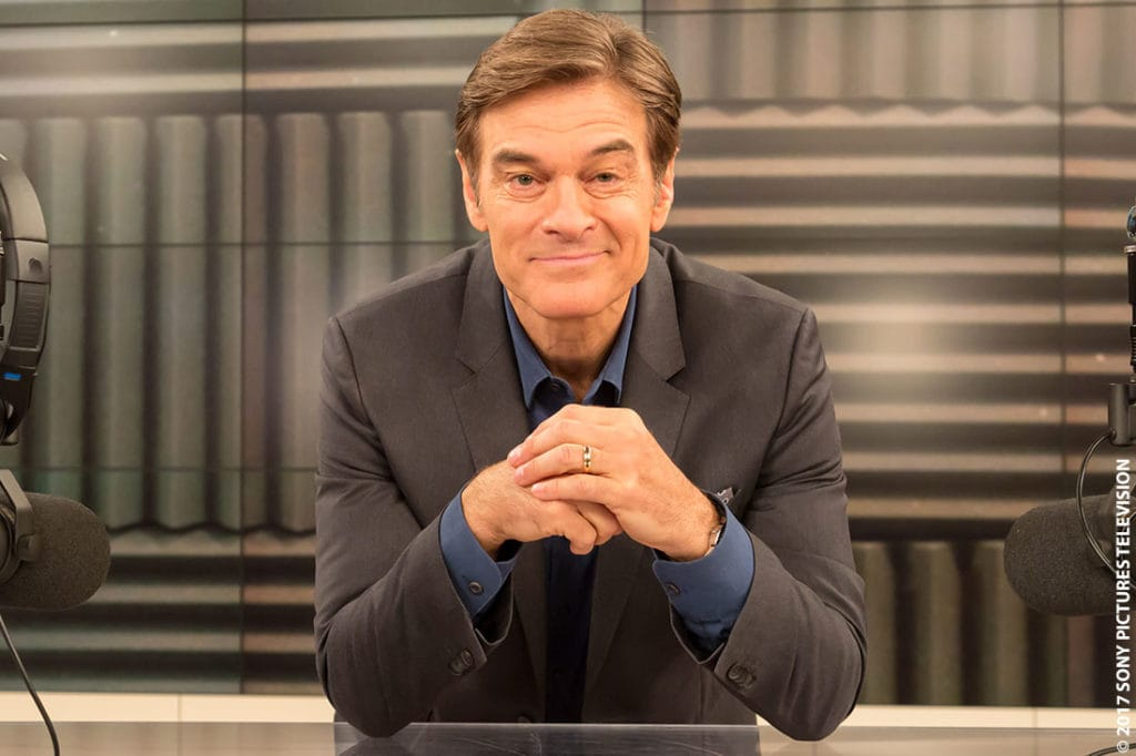 Dr. Oz Discusses CBD Oil